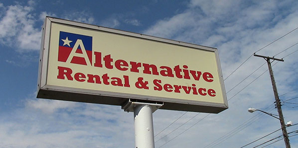 Alternative Rental & Service